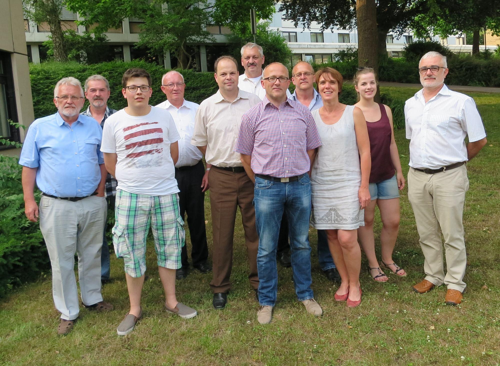 Die Mitglieder des Kuratoriums im Sommer 2015